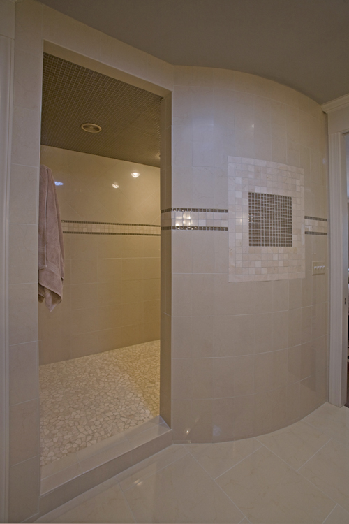 After pic of shower for NC Design Online, North Carolina