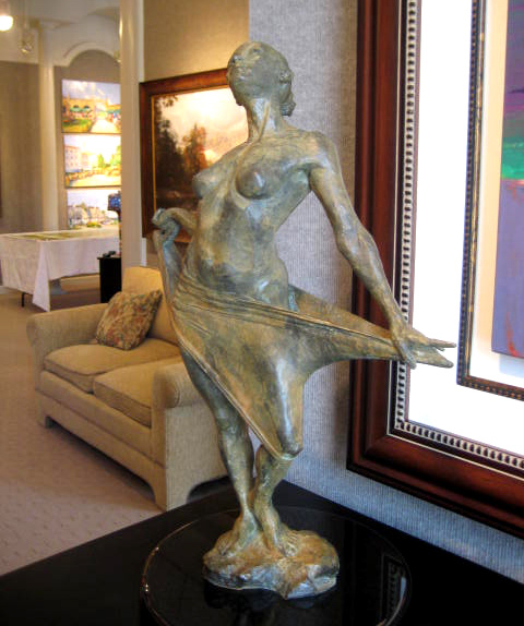 Sculpture: Clarity by Paige Bradley, NC Design Online, North Carolina