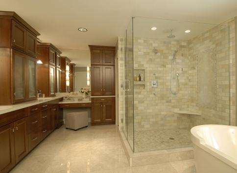 Master Bath Remodel Before And After Nc Design Online
