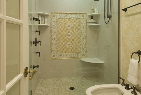 Schelfe Associates Renovation Bathroom Shower North Carolina Design Online