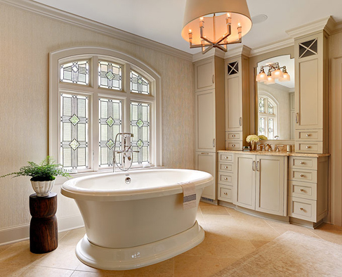 Soaking Tub. Design by Amy Vermillion. Presented by North Carolina Design Online.