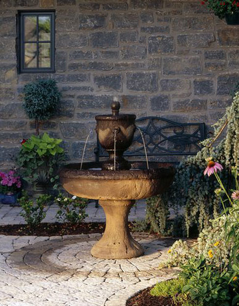 Fontaine Outdoor Living Fountain presented by North Carolina Design Online