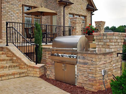 carolina outdoor kitchen outdoor kitchen design nc