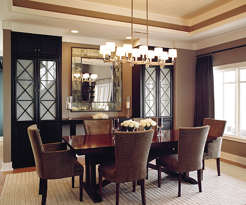 Design reflections on mirrors nc design online for Dining room mirrors