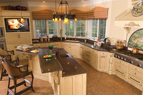 Western Kitchens Western Theme Kitchens Log Home Kitchens