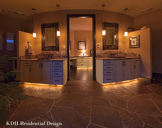 The finer details of award winning universal design nc for Award winning master bathrooms