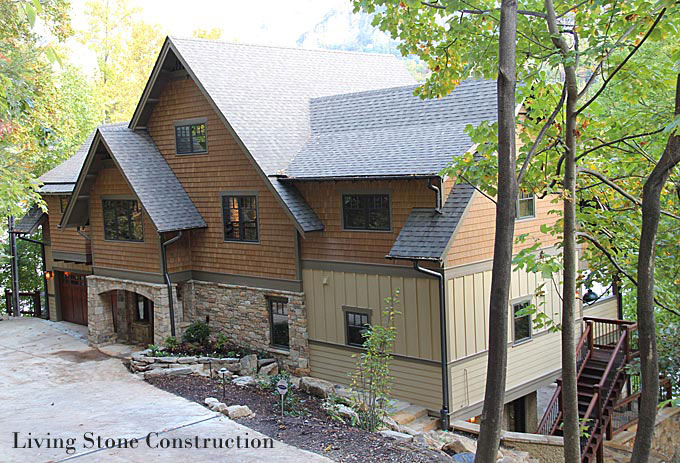 Living Stone Construction : Asheville, NC Whole House Remodelers  NC Design Online