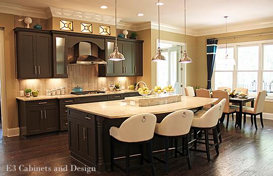 Charlotte Kitchen Designers Using Color In Kitchen Design Nc Design Online