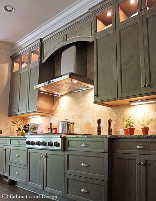 Charlotte Kitchen Designers using color in kitchen design | NC ...
