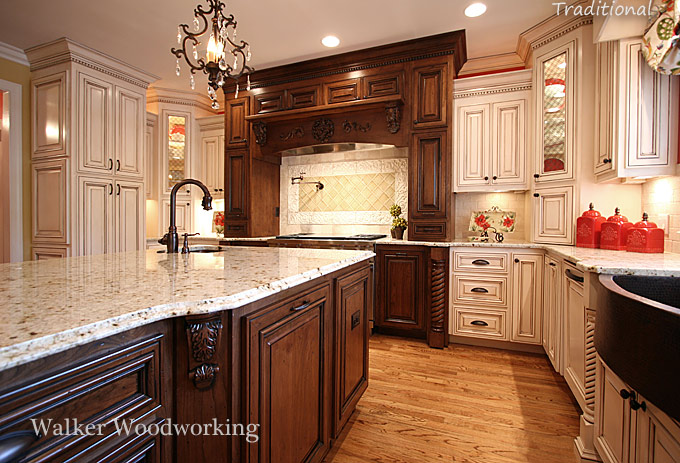 images courtesy of walker woodworking traditional kitchens - Traditional Kitchen