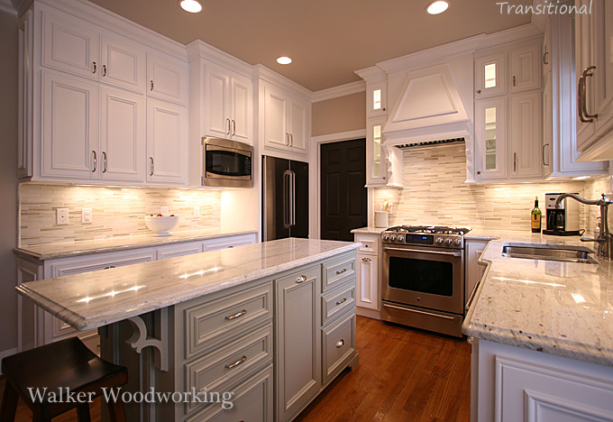 Explaining Traditional Kitchen vs. Transitional Kitchens ...