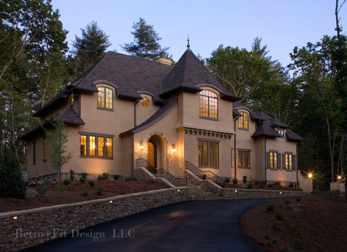 Asheville residential designer captures the most scenic North carolina mountain house plans