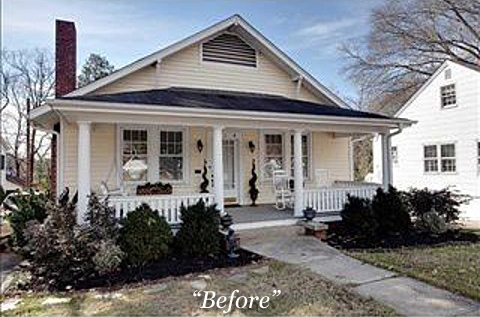 Aaron fitz construction remodels 1930 39 s raleigh bungalow for 1930s bungalow interior design