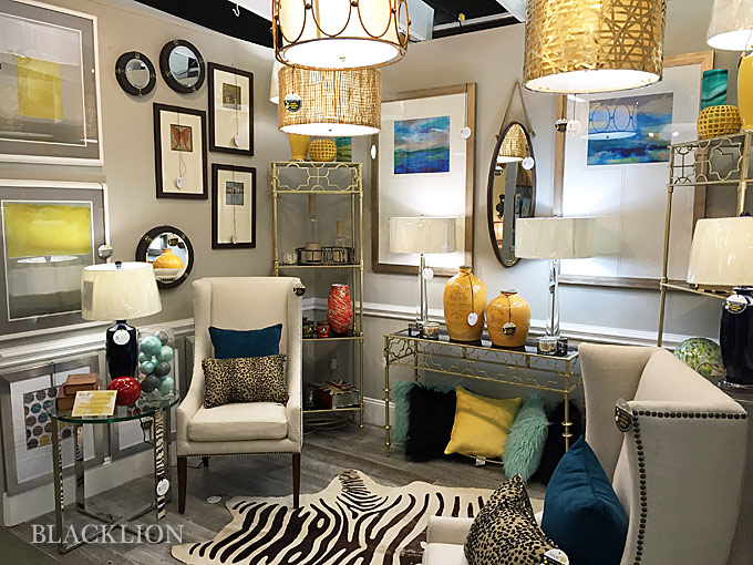 We have every category of furniture and d cor   says Nita   Traditional   transitional  modern  mid century modern   our selection runs the whole  gamut. Charlotte Accessories And Furniture  Blacklion   NC Design Online