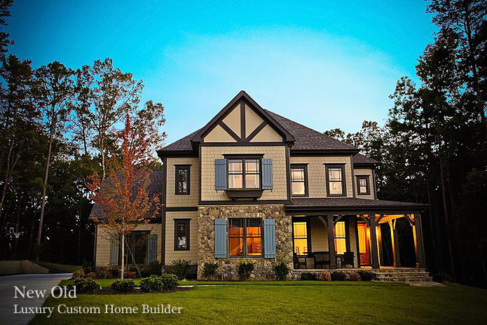 New old charlotte custom home builders mary ludemann for Custom house charlotte