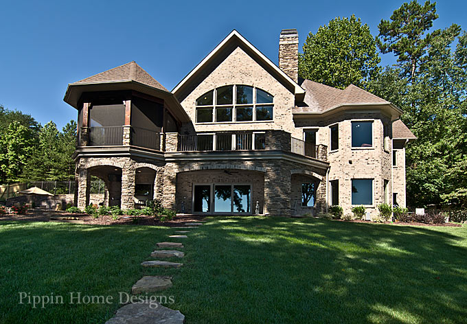 pippin home designs lake norman water views in every