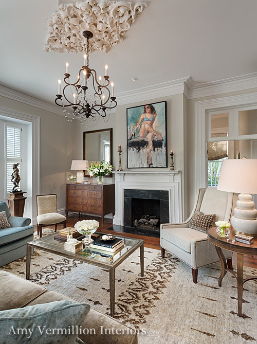 Charlotte interior design amy vermillion interiors nc for Charleston style and design