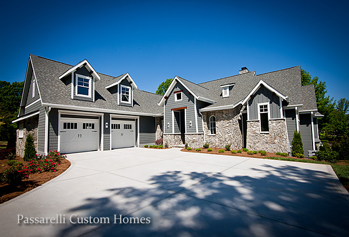 lake norman custom builders passarelli custom homes nc