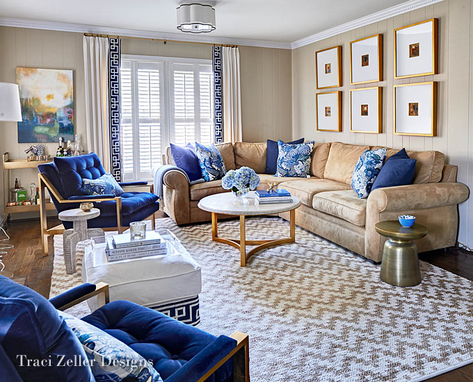 Charlotte Interior Design Services | Traci Zeller Designs | NC Design Online