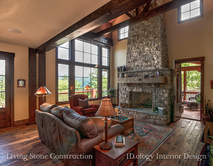 Beautiful Homes By Asheville Builder Design Team Embody A Green Build Live Concept
