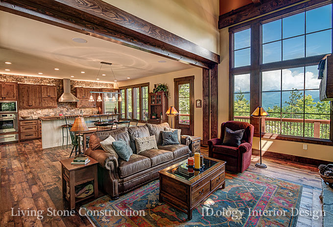 Asheville Green Building Living Stone Construction Interior Design Nc Design Online