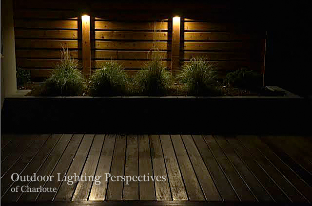 at night charlotte outdoor lighting company beautifully transforms