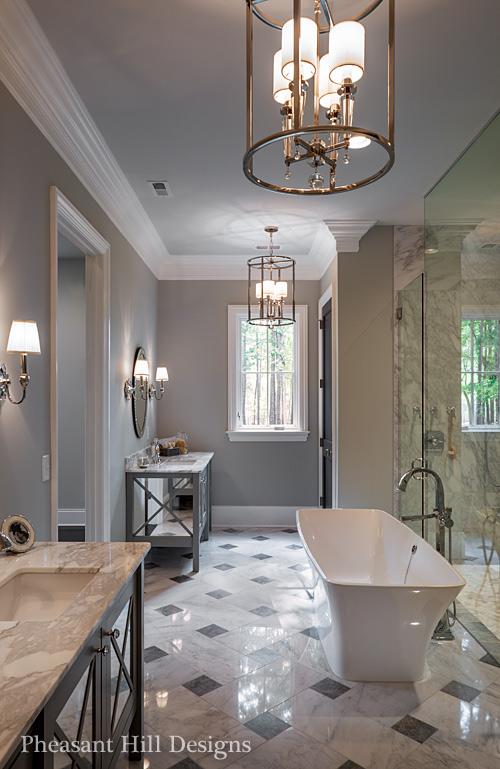 Charlotte interior design pheasant hill designs nc for Bathroom interior design charlotte nc
