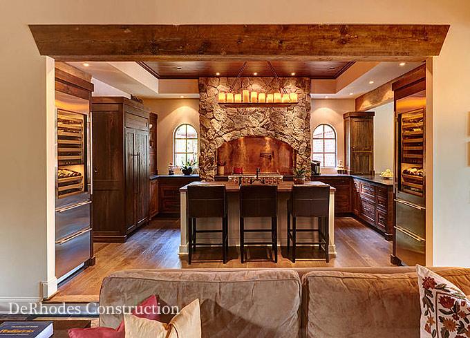 As  DeRhodes Construction   Kitchen Remodels Renovations   NC Design  . Lakeside Kitchen Design. Home Design Ideas
