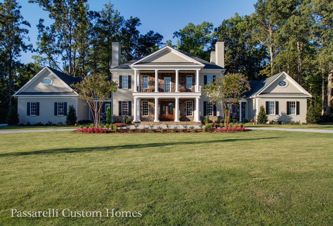Lake norman builder customizes 7 500 square foot home with for Build custom home online