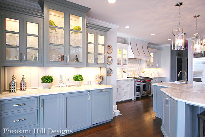 Newlywed Charlotte Interior Designer Creates A Dream Kitchen To Accommodate Her Instant Blended Family Of Seven